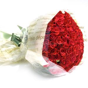 [장미100송이]꽃다발B-1